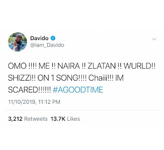 New Banger Alert Davido features Zlatan and Naira Marley On New Track   Checkout All We Know About The song