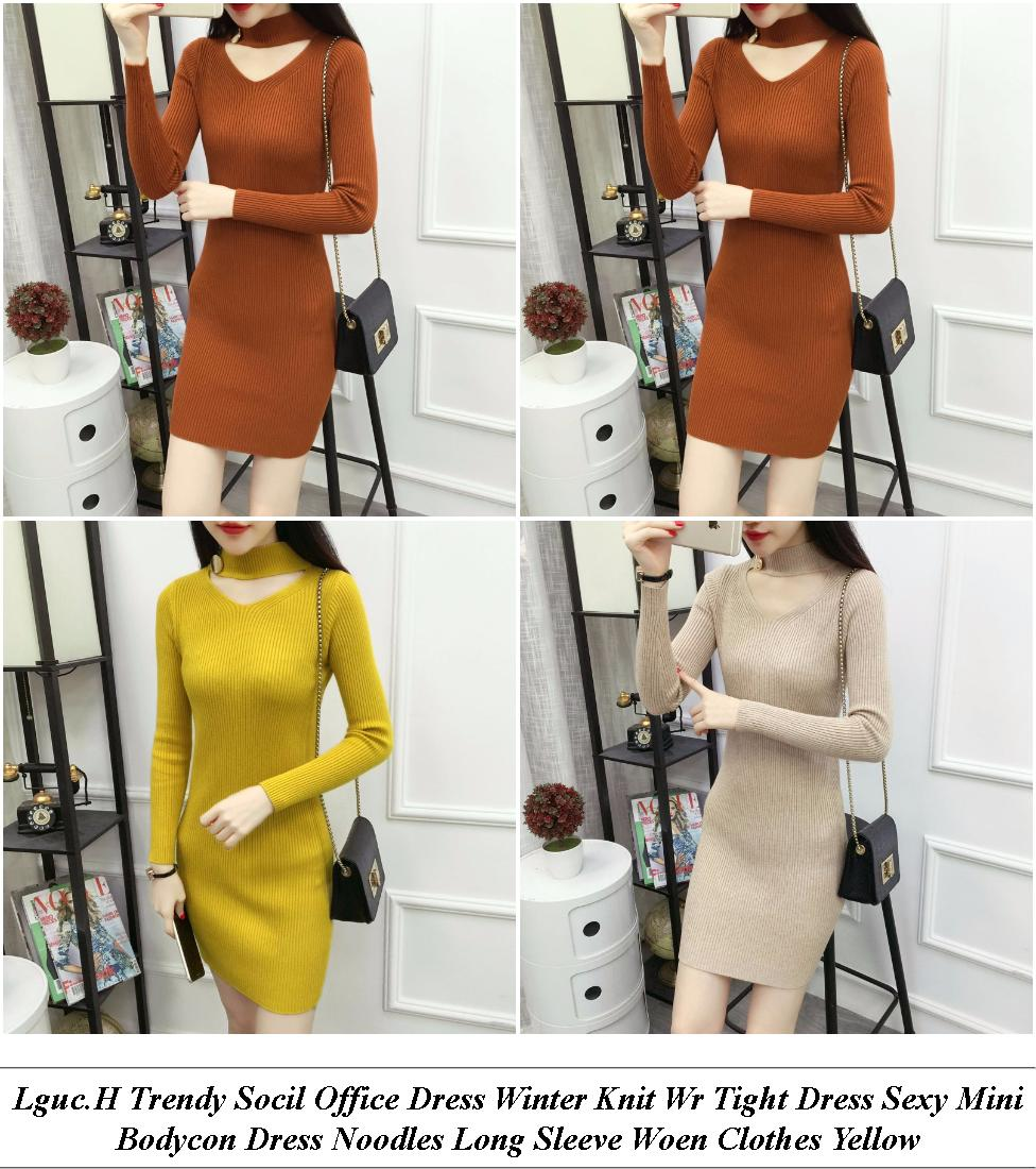 Womens Evening Dresses With Sleeves - Clothing Stores With Easter Sales - Plus Size Lack And Gold Sequin Dress