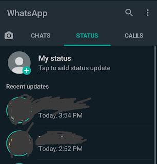 WhatsApp Status Kaise Dekhe