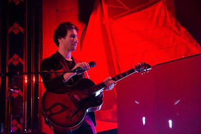 David Fonseca en su concierto de Madrid