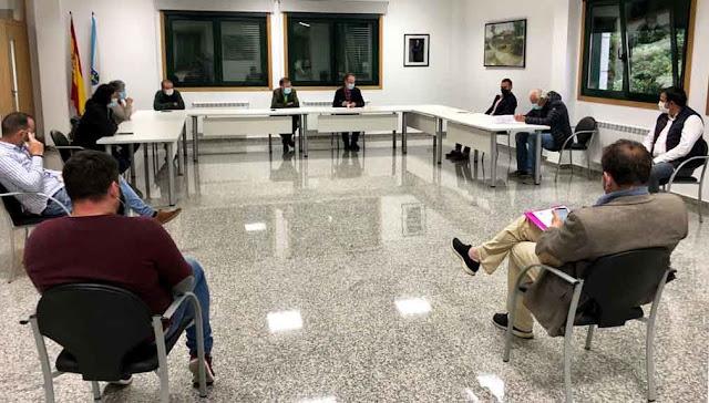 Barro aprueba un convenio con la Diputación para la humanización de la Plaza de San Amaro