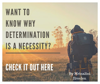 Why Determination Is A Necessity?