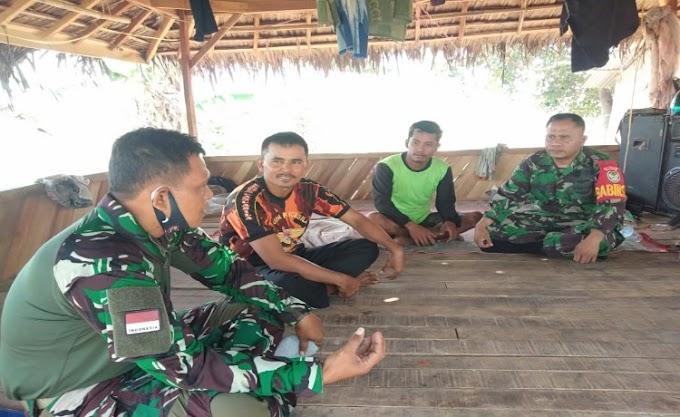 Danramil 0227/Cipocok Jaya Perkenalkan Bios-44 Kepada Petani