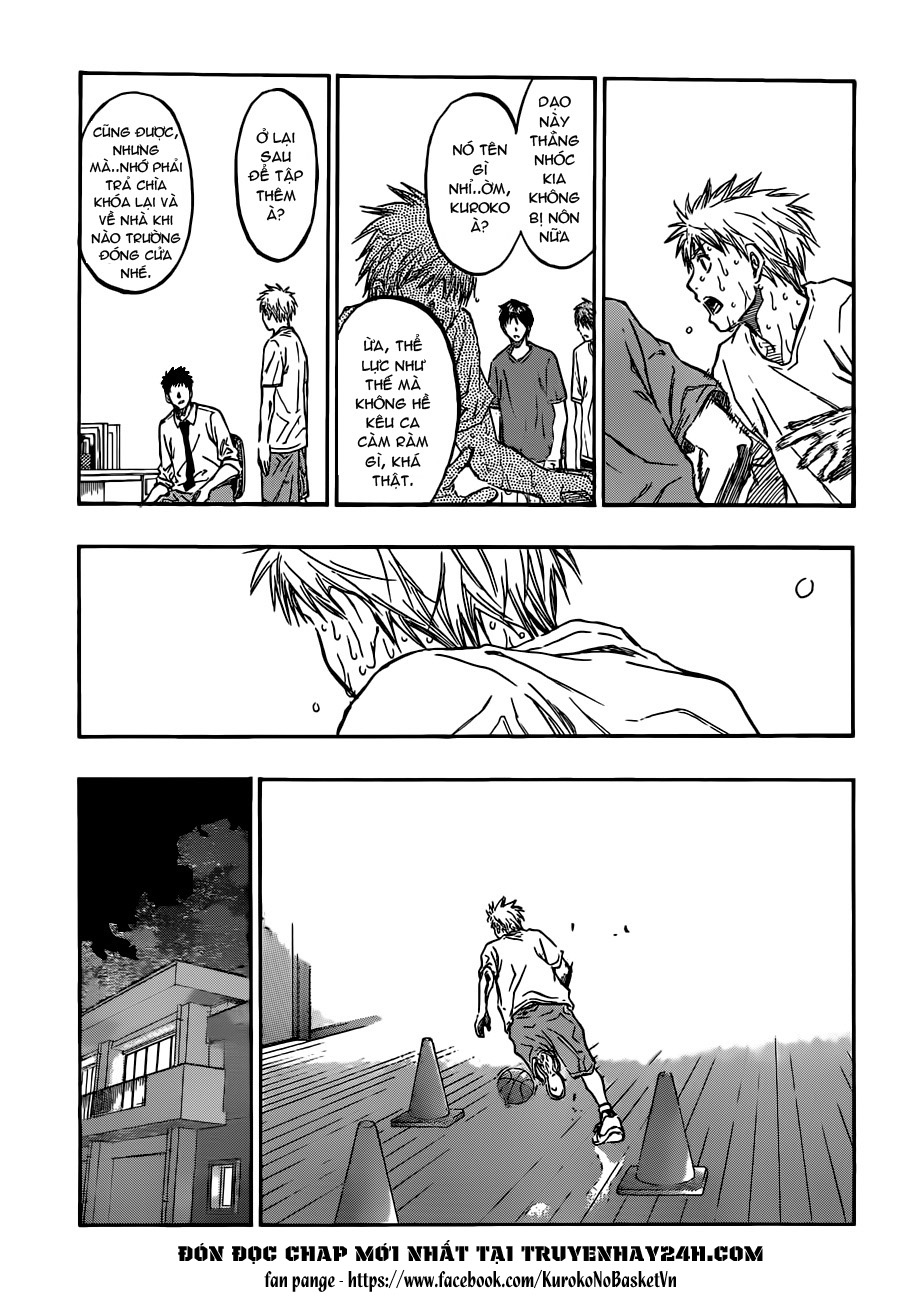 Kuroko No Basket chap 205 trang 7