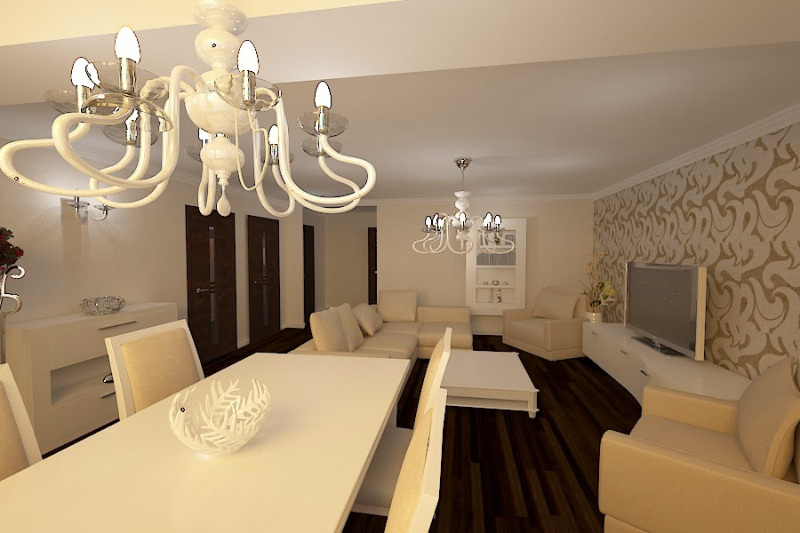 Design interior living casa moderna Constanta - Design Interior - Amenajari interioare Design - interior - living - apartament