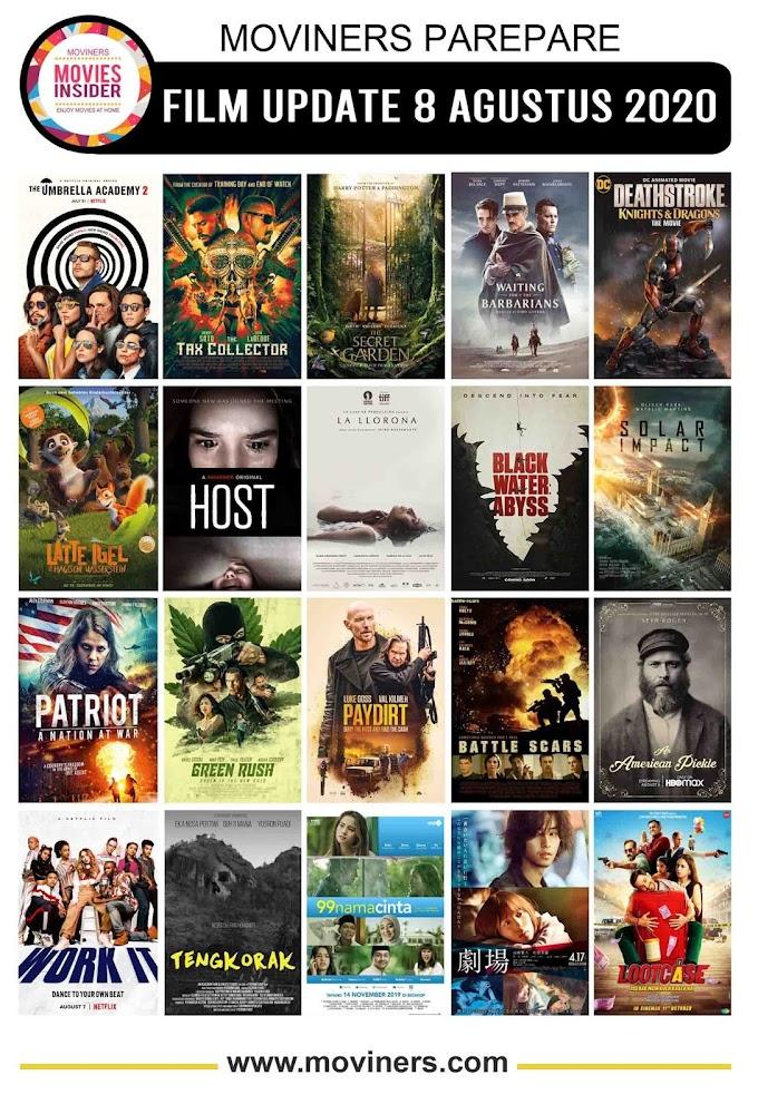 FILM UPDATE 8 AGUSTUS 2020