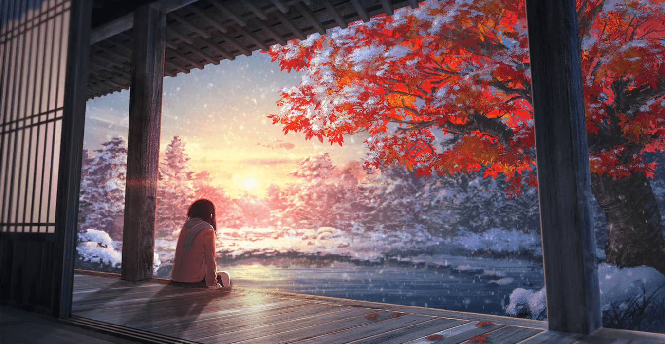 In The Snow 1080p Wallpaper Engine Anime