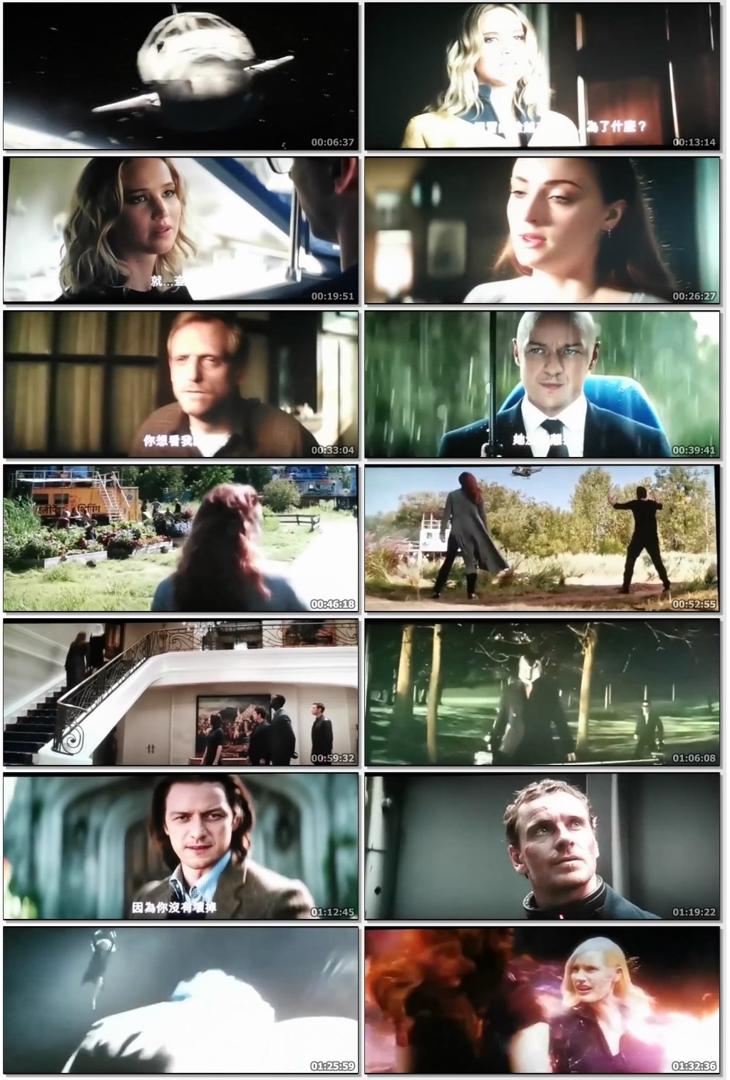 X-Men Dark Phoenix 2019 HDCam 400MB Hollywood Hindi Movie 480p