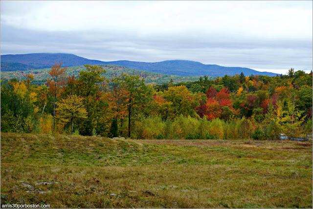 Paisajes Otoñales en Mason, New Hampshire