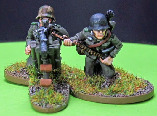 Eye Candy - Bolt Action - German Panzer Grenadiers MG34 Team