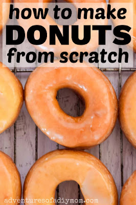 donuts made from scratch