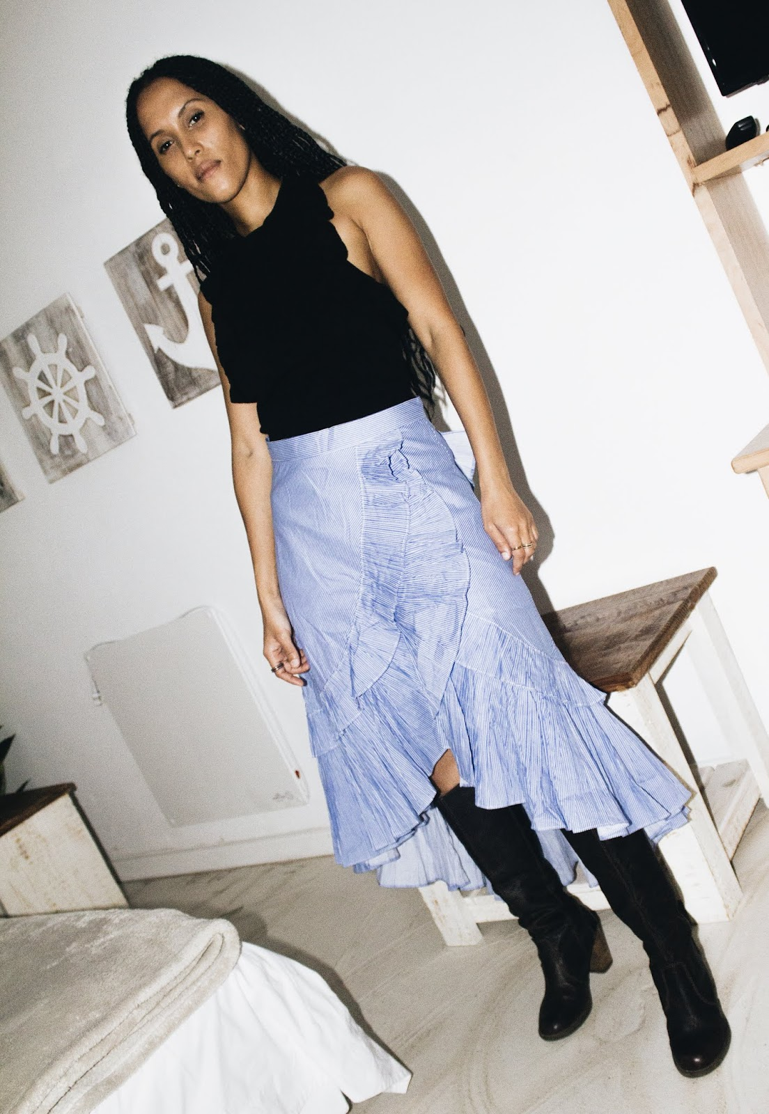 Liezel-Esquire-how-to-wear-a-tiered-ruflle-skirt