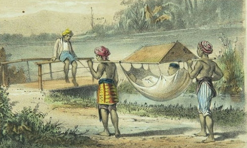 Melihat Nusantara di Masa Lalu Lewat Litografi Karya Auguste van Pers