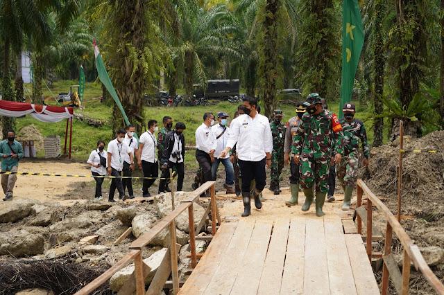 Resmi Dibuka, TMMD Ke-112 Kodim 0207/Simalungun TA. 2021