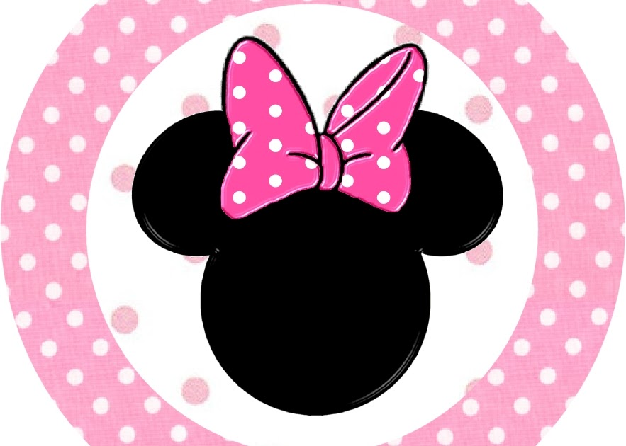 Minnie Mouse Free Printable Toppers Or Labels In Pink Oh My