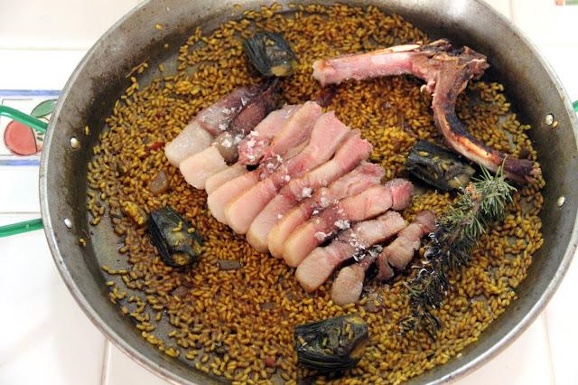 receta de arroz paella con supernatural de joselito