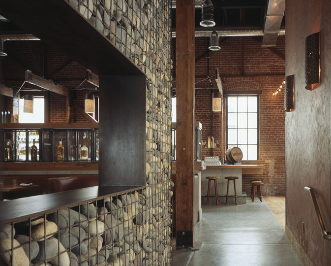 Restaurant interior design tres agaves san francisco