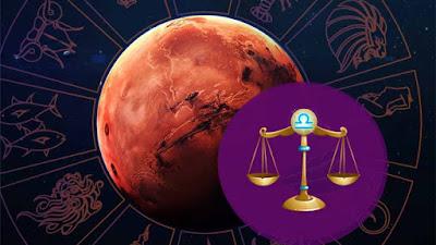 14 septembrie - 30 octombrie 2021: Marte în Balanţă