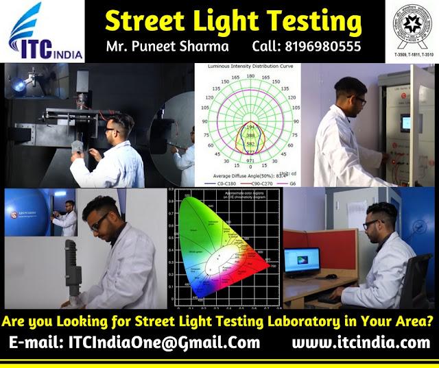 Street Light Testing Laboratory