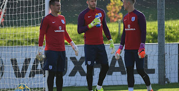 4722afb2b485 England s Fraser Forster Shows Off Unique Taped Nike Magista Opus Boots