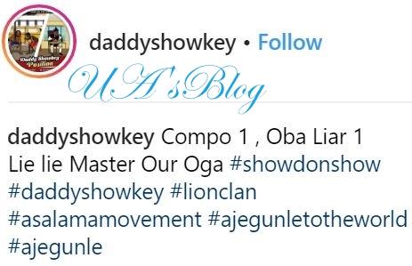 Dino Melaye Is A Liar - Daddy Showkey Shares New Video Mocking The Senator