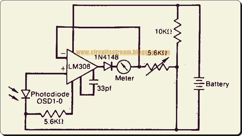 Awe Inspiring Logarithmic Light Meter Circuit Diagram Wiring Cloud Staixuggs Outletorg