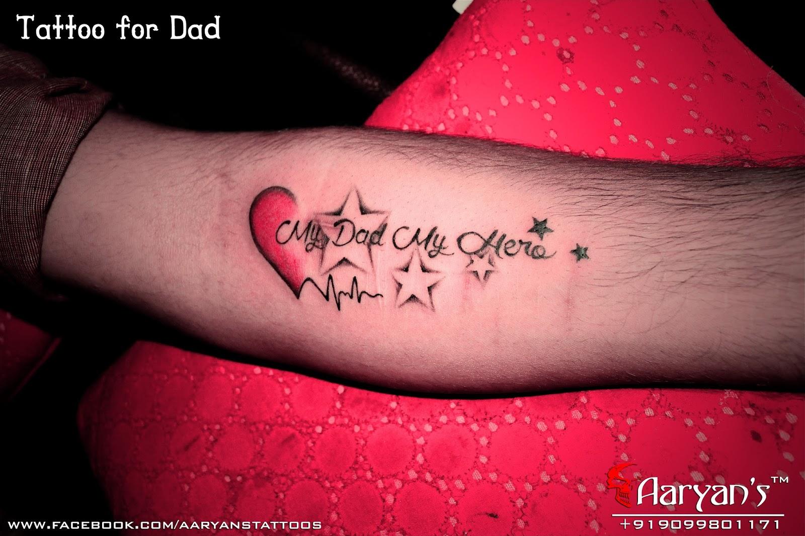 Mum And Dad Tattoo