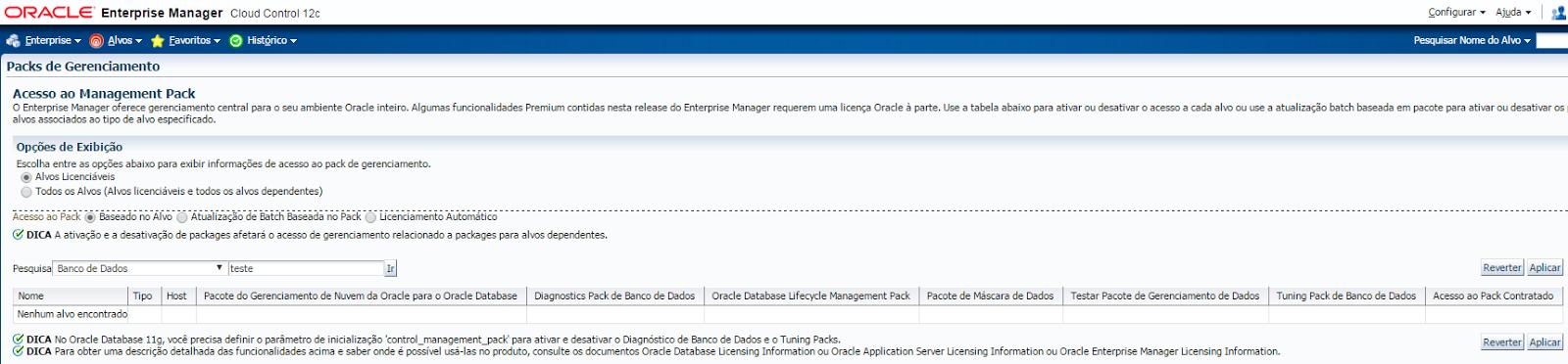 O que é o Oracle Enterprise Manager? Ele é pago ou gratuito?   Blog