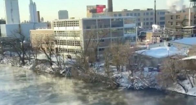 Deep Freeze Kills Eight In US & Town Called Hell FREEZES OVER