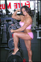Female Bodybuilder Nicole Ball