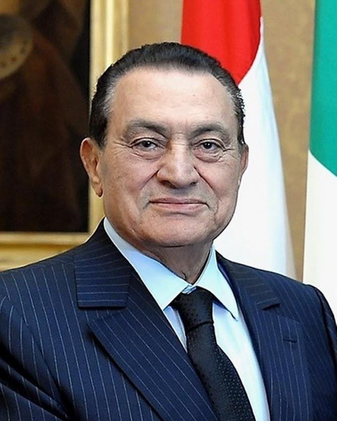Egypt's ex-president Hosni Mubarak dies at 91