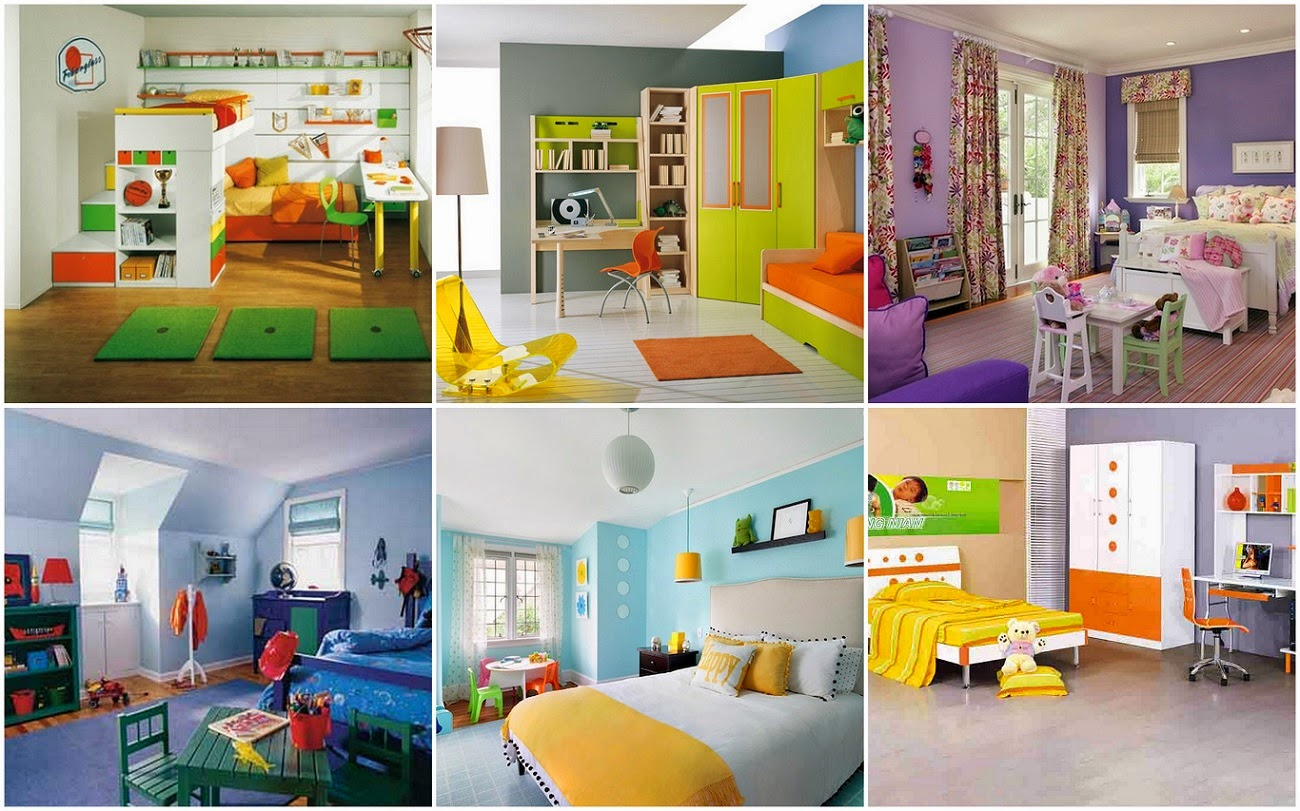 Universal Kids Rooms Designs Ideas