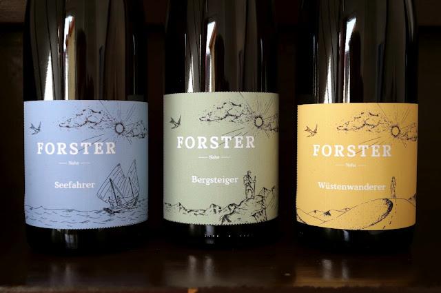 Die Riesling Abenteurerweine aus dem Weingut Forster an der Nahe