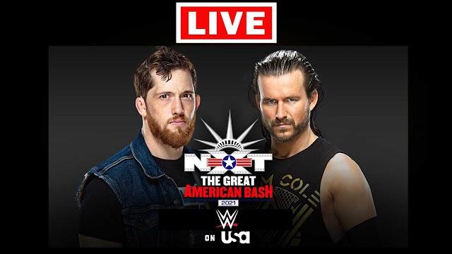EN VIVO   WWE NXT 462 Great American Bash   Horario   Ver gratis online en directo en Tv