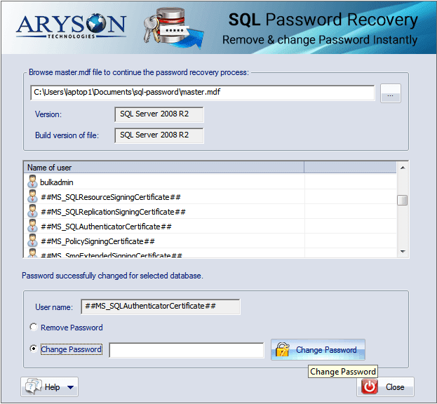 Best SQL Server Password Changer to Reset or Change SQL SA