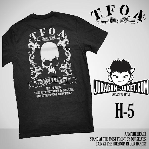 jas exclusive t shirt crows zero  tfoa (h 5) 2