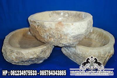 Wastafel Batu Onyx