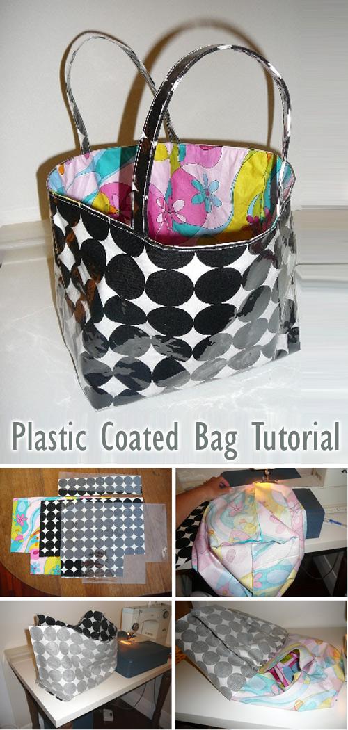 Plastic Coated Bag Tutorial