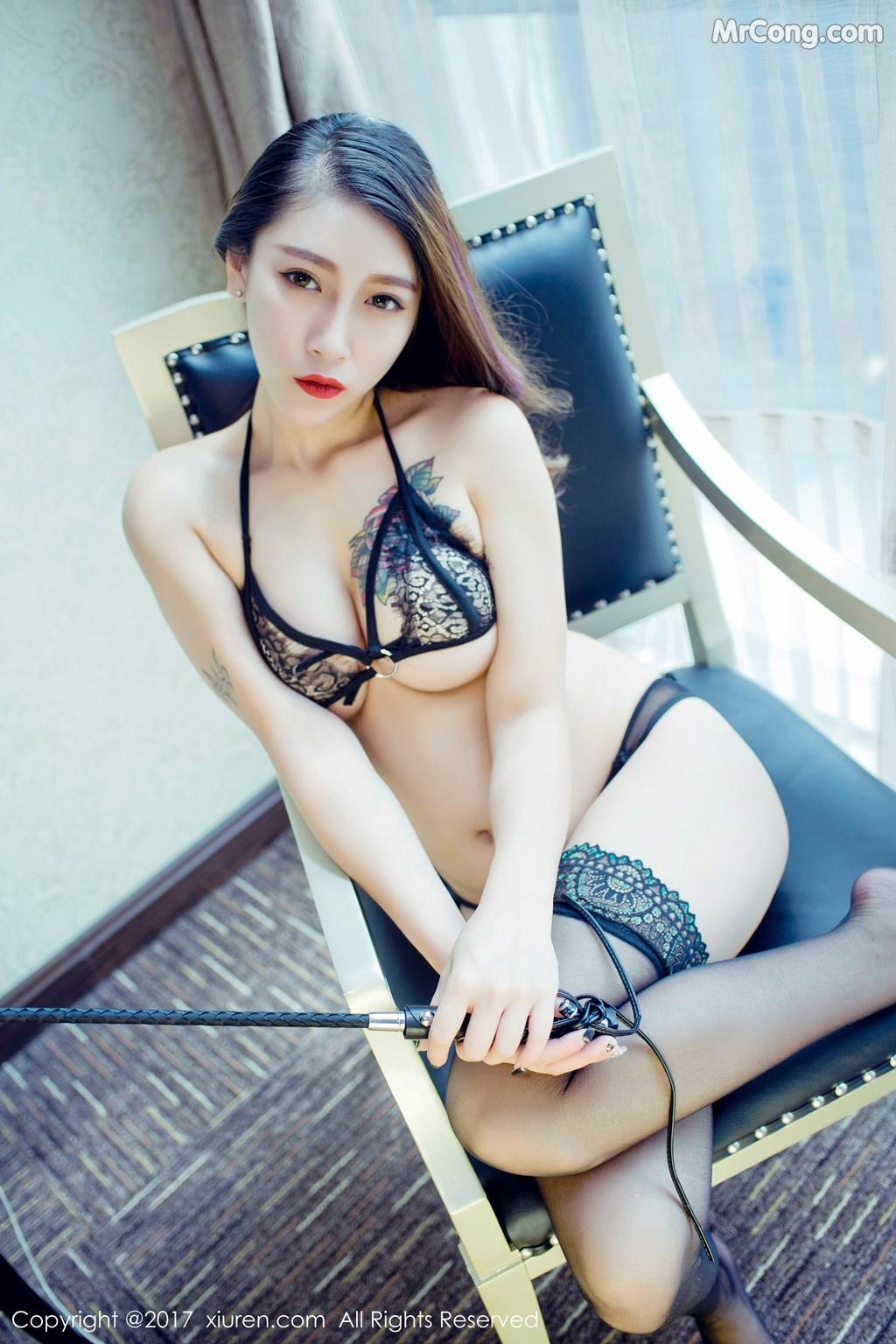 Image XIUREN-No.812-Du-Hua-Hua-MrCong.com-034 in post XIUREN No.812: Người mẫu Du Hua Hua (杜花花) (48 ảnh)