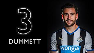 Paul Dummet Newcastle United