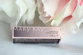 Mary Kay Creme Lipstick - Frosted Rose - www.annitschkasblog.de