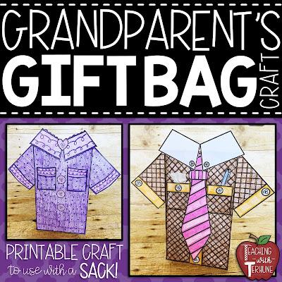 Grandparent's Day Student Crafts