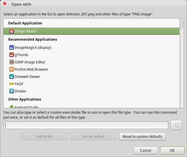 Choose the Apps Linux Uses by Default - Preferred App