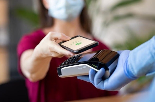 coronavirus pandemic increased use contactless payments frictionless pay mobile