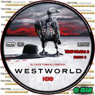 GALLETA [SERIE TV]WESTWORLD TEMPORADA 2 DISCO 2