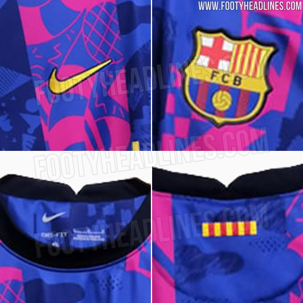 Her er Barcas Champions League-trøje 2021/2022
