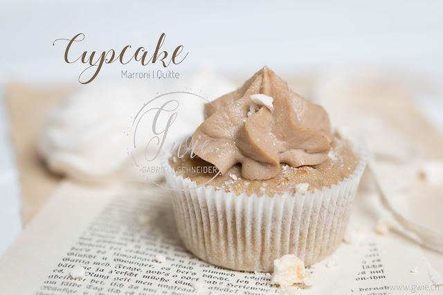 herbst-cupcakes, marroni cupcake, quittenkompott