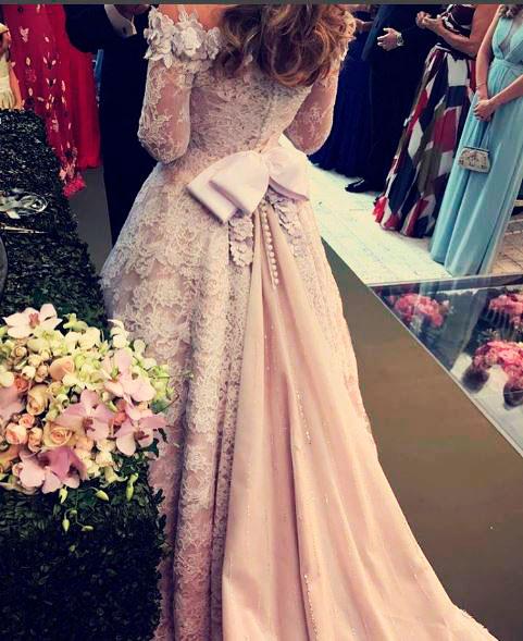 Lêle Saddi vestido de noiva