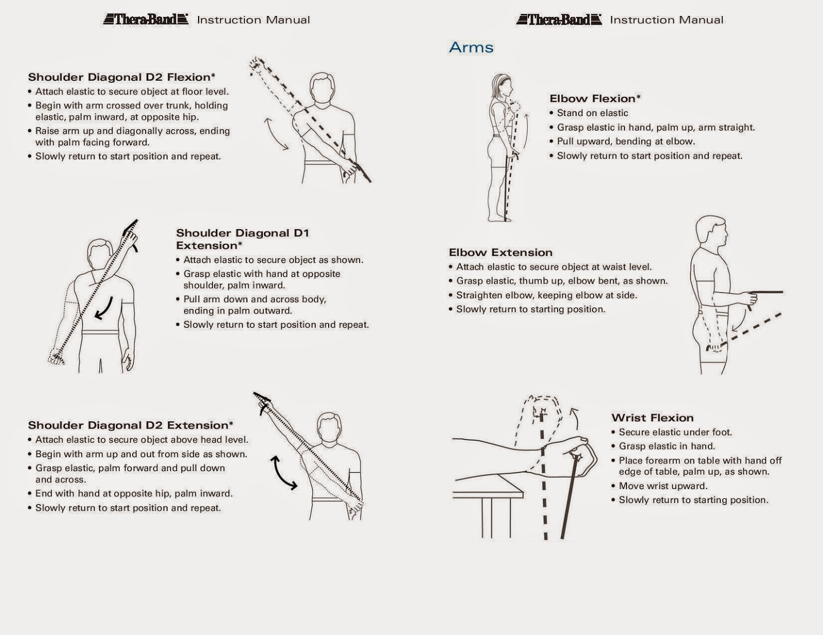 chair exercise for seniors handout recliner ikea theraband exercises arms related keywords