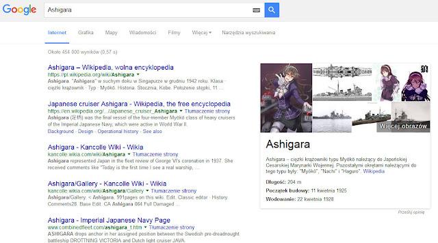 Ashigara w Google